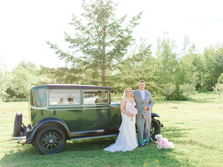 Olde Mill Barn Wedding - Centerville, Maine