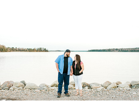 Kiwi & Pat - Couples Mini Session - Steuben, ME