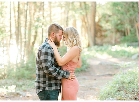Ashley & Timmy - Engaged - Ellsworth, Maine