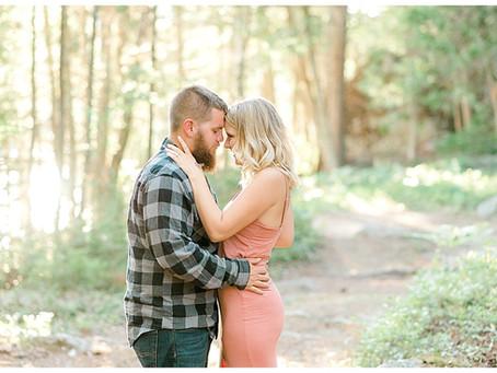 Ashley & Timmy - Engaged - Ellsworth, Maine