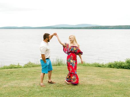 Stephi + Robbie - Engaged - Surry, Maine