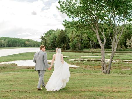 Kayla + Spencer - Backyard Wedding - Harrington, ME