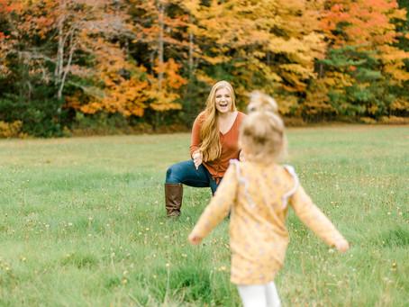 Fall Family Session - Black House - Ellsworth, Maine