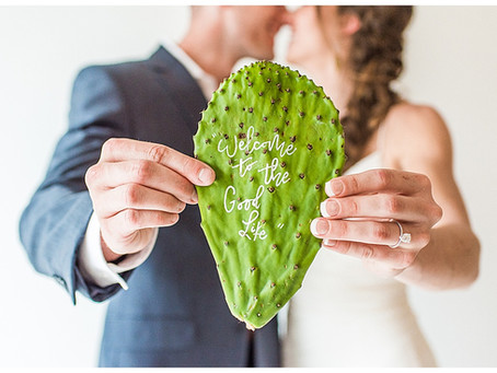 Cactus and Copper Styled Shoot - Annapolis, MD