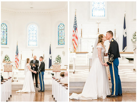 Military Wedding - Fort Myer Old Post Chapel - Arlington, VA