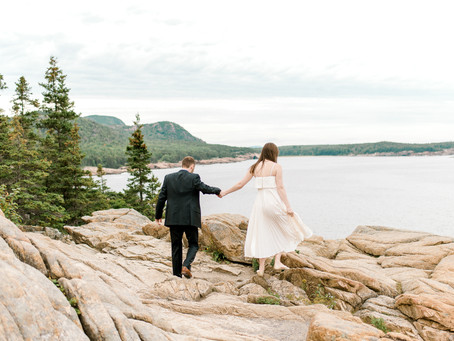 Megan + Travis - Acadia National Park Elopement