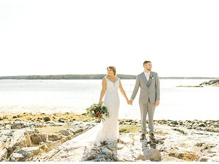 Coastal Fall Wedding - Jonesport-Beals, Maine