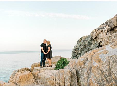 7th Anniversary - Acadia National Park - Bar Harbor, ME