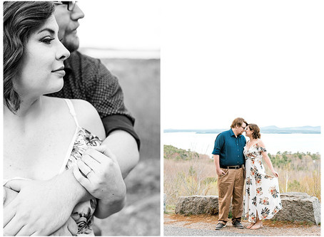 Molly & Drew - Acadia National Park - Bar Harbor, ME