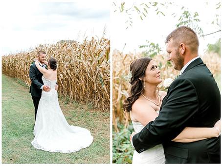 Kristan & Rob - Backyard Wedding - Northern MD
