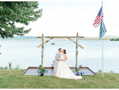 Kelsey & Felipe - Lake Memphremagog - Newport, Vermont