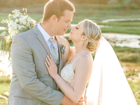Kayla + Spencer - Coastal Tented Wedding - Harrington, Maine