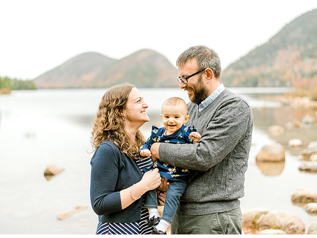 Fall Family Session - Acadia National Park - Bar Harbor, ME