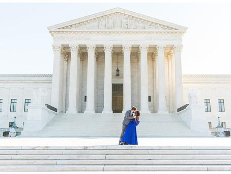 Whitney & Jeff - Sunrise Engagement - Washington D.C.