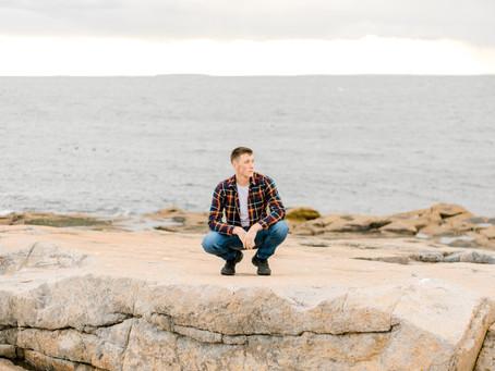 Jacob - Sumner Senior - Schoodic Point - Winter Harbor, ME