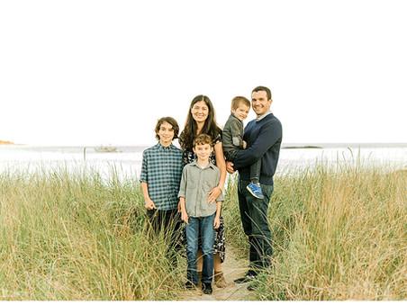 Summer Family Session - Sand Beach - Gouldsboro, Maine