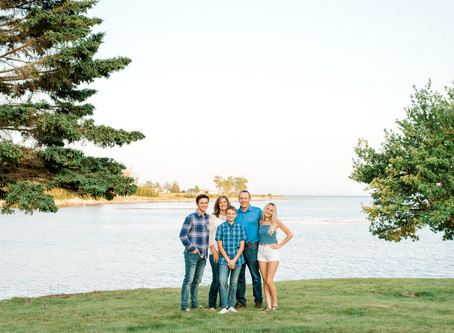 Summer Extended Family Session - Corea, Maine