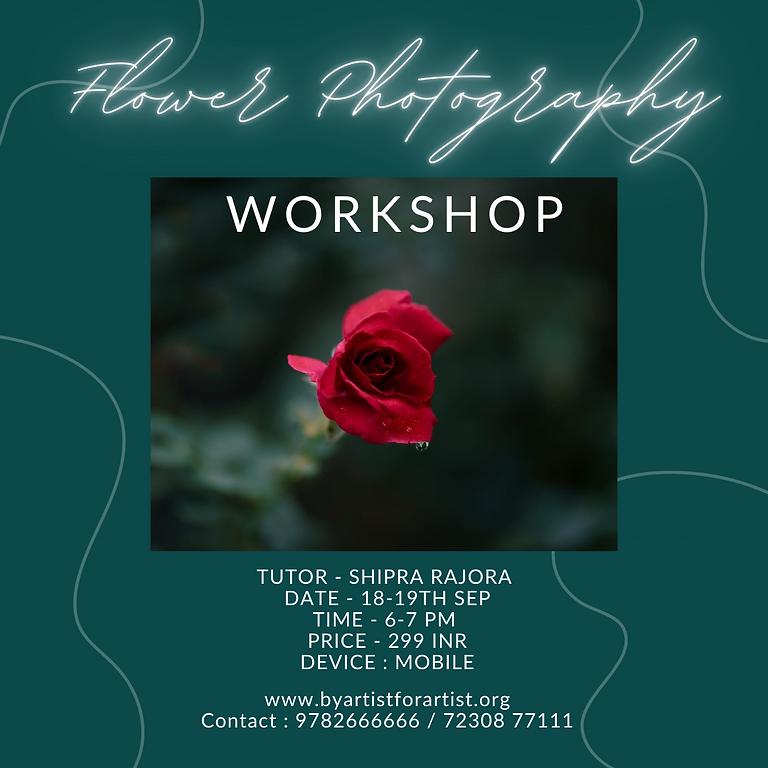 Flower Photography Workshop