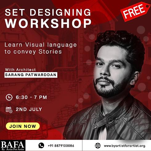 Set Designing Workshop
