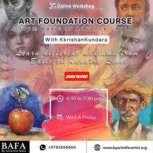 Art Foundation Course