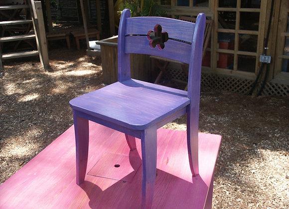 Mobiliario Infantil - Silla Flor