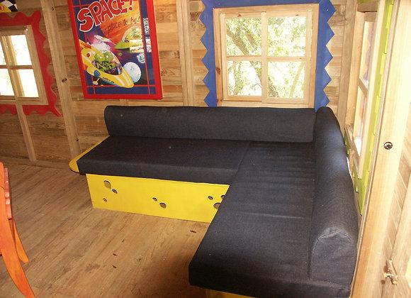 Mobiliario Infantil - Sofá queso