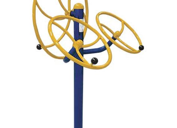 Rotación Vertical con Doble Rotación Diagonal