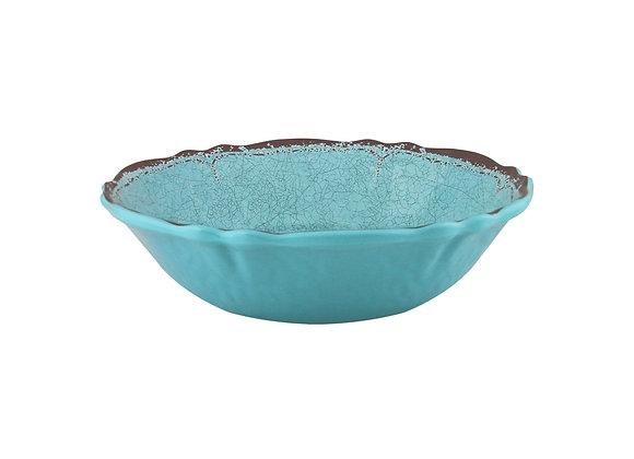 Antiqua Cereal Bowl Turq