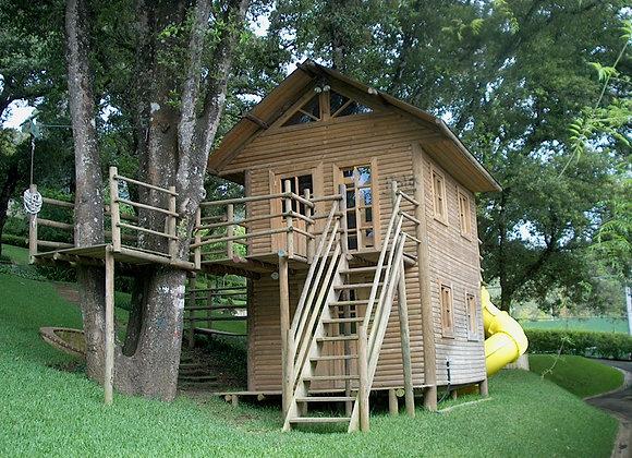 Casa Jungla Cabaña Doble NIvel