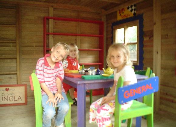Mobiliario Infantil - Sillas Tituladas