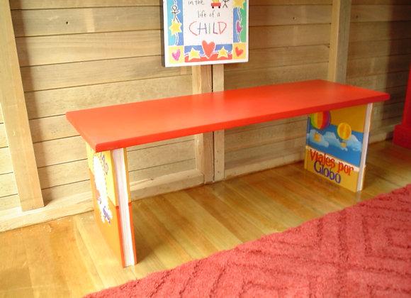 Mobiliario Infantil - Banca Adorable