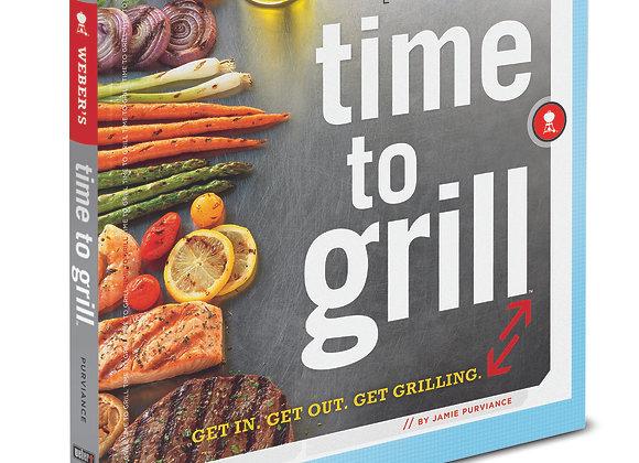 Cocina Exterior - Libro Time to Grill