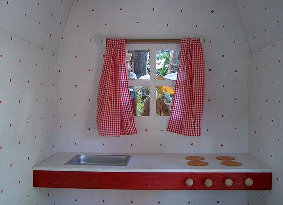 Mobiliario Infantil - Cocina y Cortina