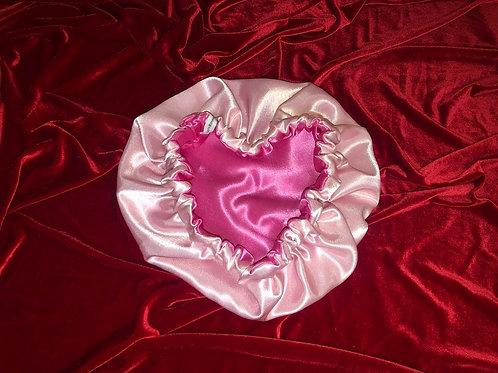 Pink Starburst Reversible Bonnet