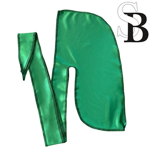 Money Green Luxury Satin Durag