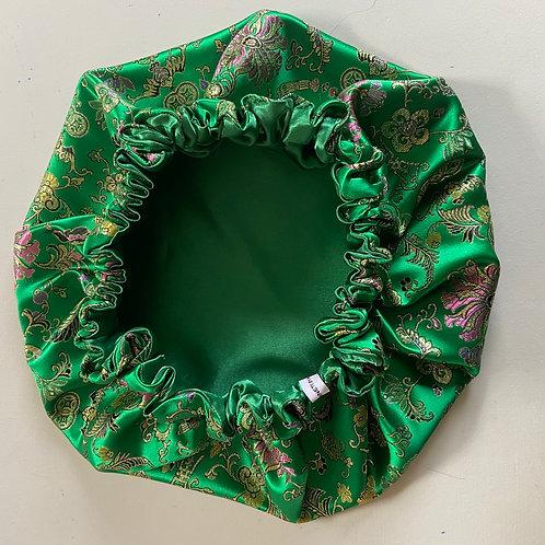 Jade Satin Bonnet