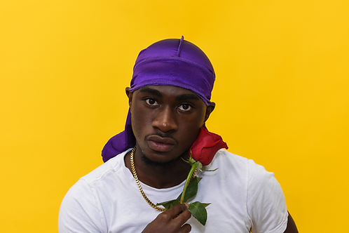 Violet Luxury Satin Durag