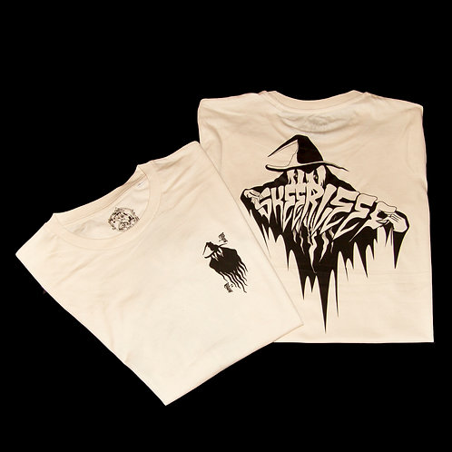 'SL ghost' T-shirt - Skeerleef x Intr.s collab