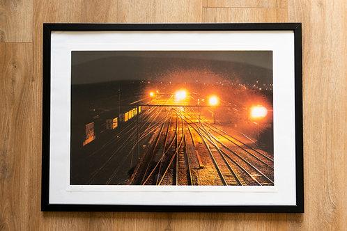 'Rails' - A2 print