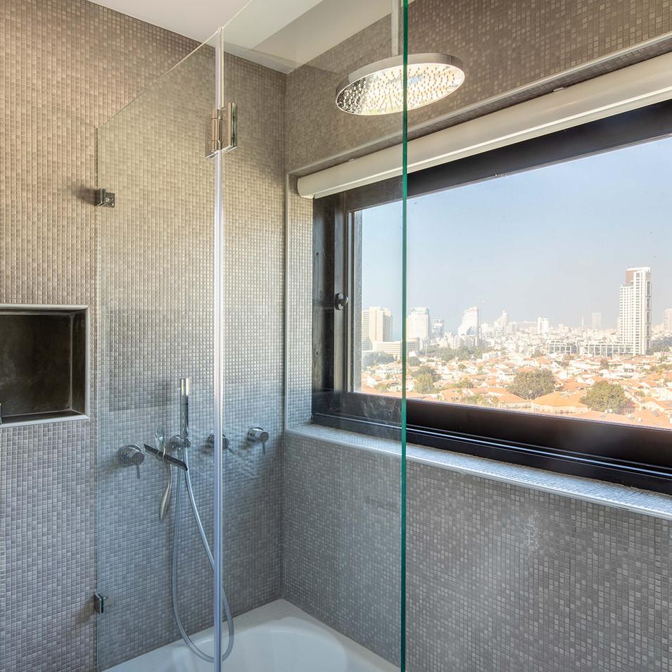 A triplex in Tel Aviv