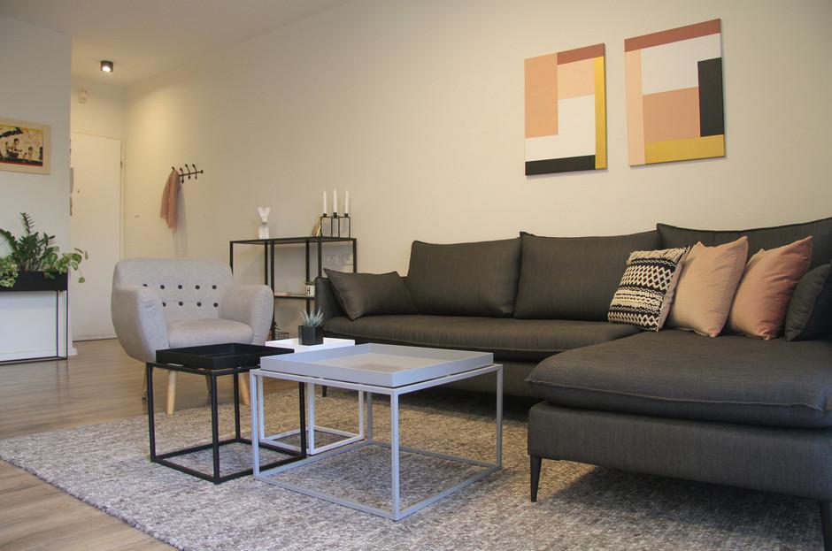 Apartment in kiryat Ono Interior Design- Batya Resnik Loewenthal