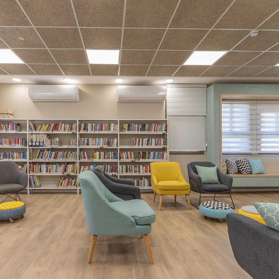 Hayovel High school library