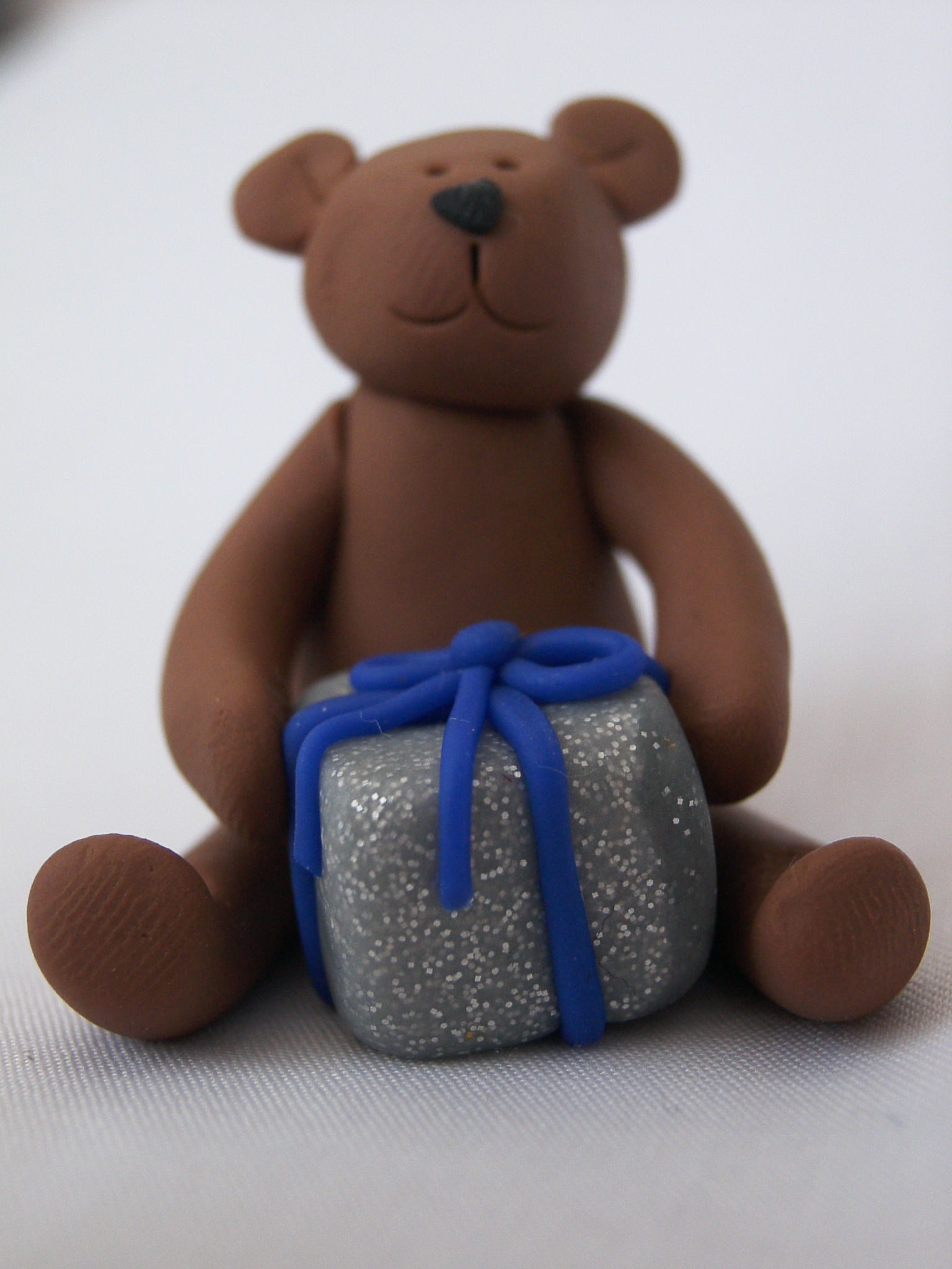 Teddy with Parcel