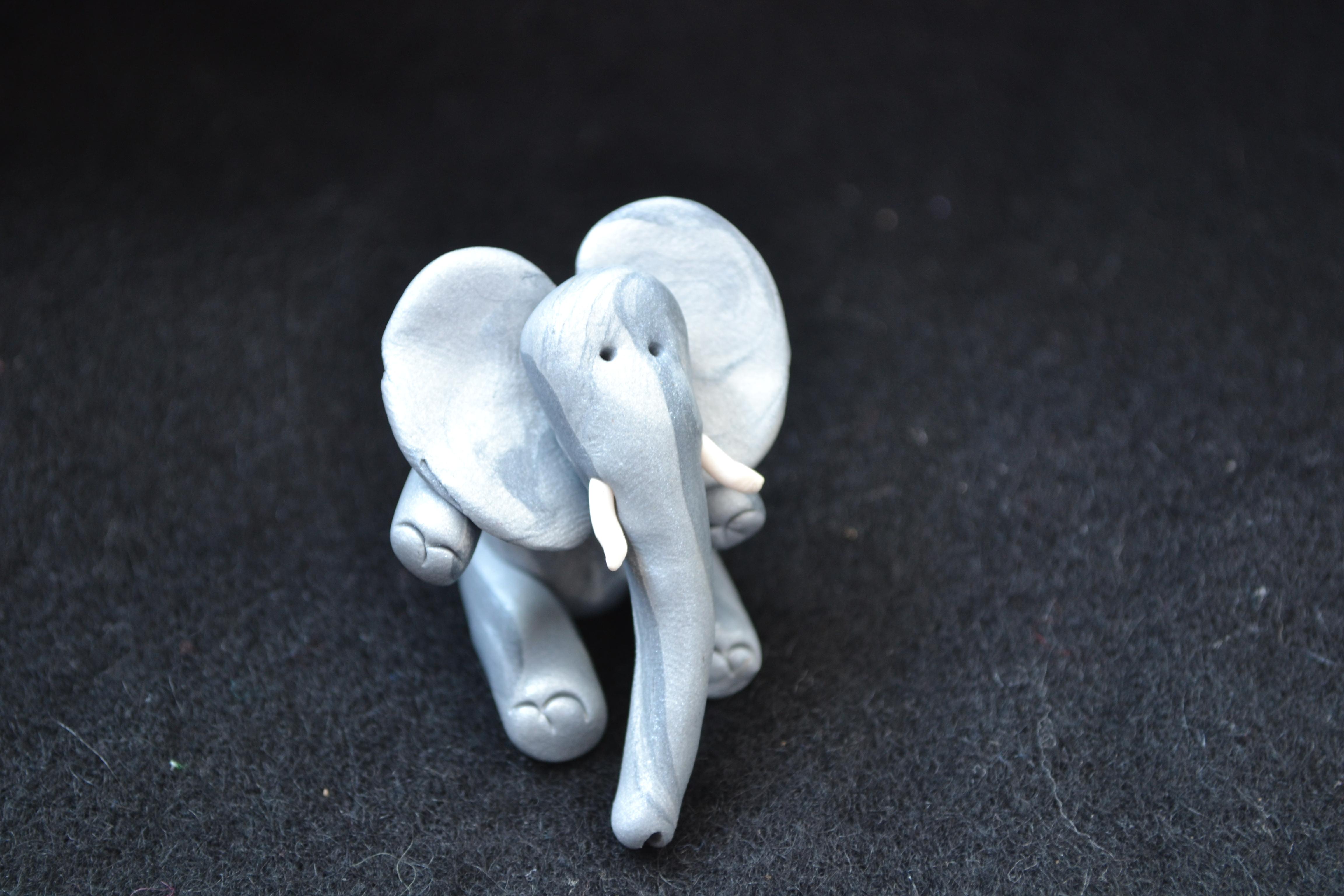Silvery Elephant