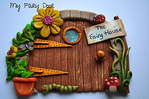 Gill's Clay Creations Magical Fairy Door