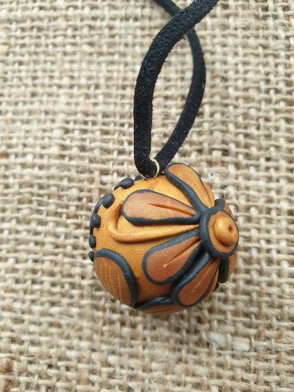 Flower Ball Pendant