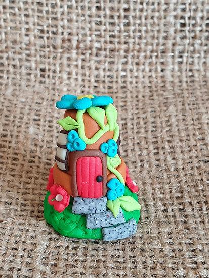 Flower Pot Fairy House