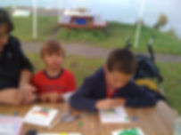 On the Lancashire Wildlife Trusts bug hunt, the children made creative clay critters!