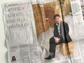 SUNDAY TIMES: Getting a business loan in 2 hours