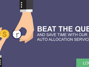Save time with our Auto Allocation Service!